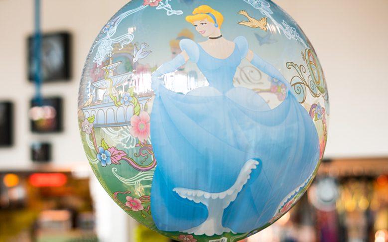Eisprinzessin Ballon mit Helium