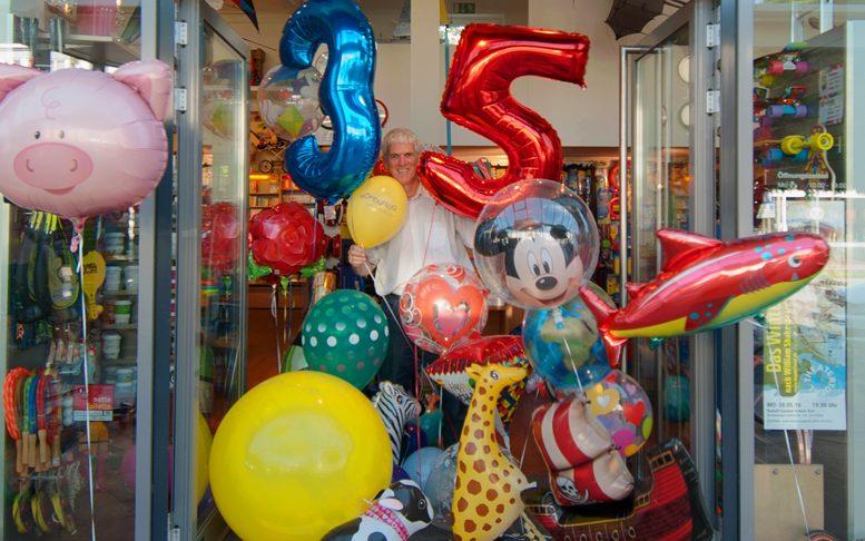 Heliumballon-Allerlei